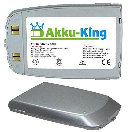 Akku für Samsung SGH-S500, SGH-S508 - ersetzt BST1338SE Li-Polymer