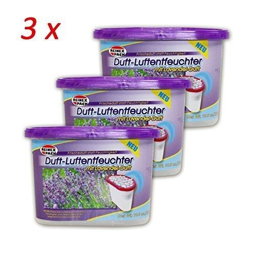 Lavendel Luft ((709) 3er pack Duft Lavendel Raumentfeuchte Luftentfeuchter Luft Entfeuchter)