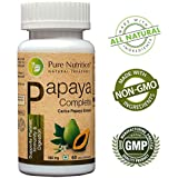Pure Nutrition Papaya Complete Supports Platelet Immunity and Digestion Capsules - 60 Capsules