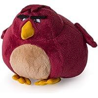 Angry Birds Terence Plüschfigur 12 cm Plüsch Stofftier Beanie Dunkelrot