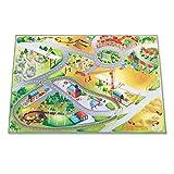 Leisure Spielteppich Stadt mit Baustelle - Rutschfest 100 x 150