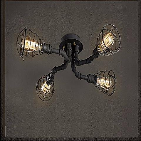 LJSYYR Lampada da soffitto lampadario lampada luce creativi cafe antichi