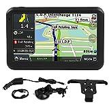 Navigazione GPS, Touchscreen Universale da 5 Pollici Navigatore per Auto Navigazione GPS 256MB 8GB Accessorio per Clip Posteriore