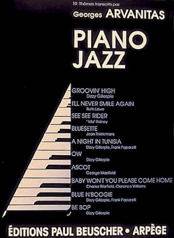 Partition : Album piano jazz, 10 themes