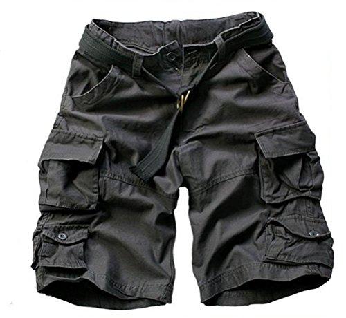 Brinny -  Pantaloncini  - Uomo Gris & Noir