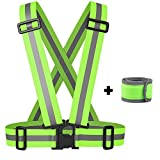 Reflective Vest with LED Armband / Wristband Set - Best Reviews Guide