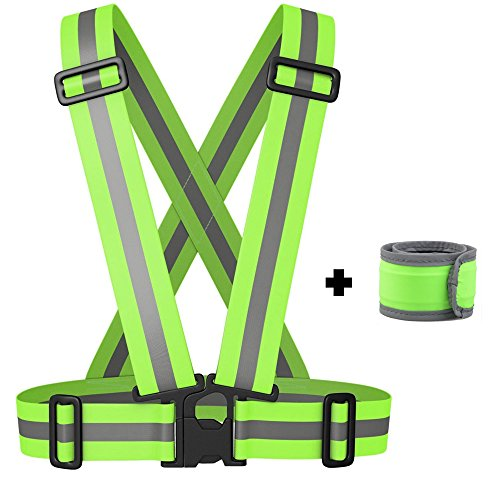 reflective-vest-with-led-armband-wristband-set-stay-safe-cycling-jogging-walking-adjustable-reflecto