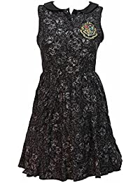 Officially Licensed Harry Potter All Over Print Collar Dress