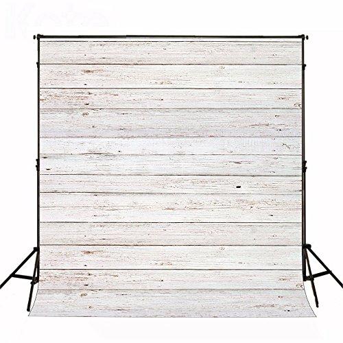 KateHome PHOTOSTUDIOS 2x3m Holzfotografie Hintergrund Weißer Hintergrund Holz Foto Hintergrund Textur Hintergrund Porträt Mikrofaser Hintergründe für Fotostudio Videoaufnahmen