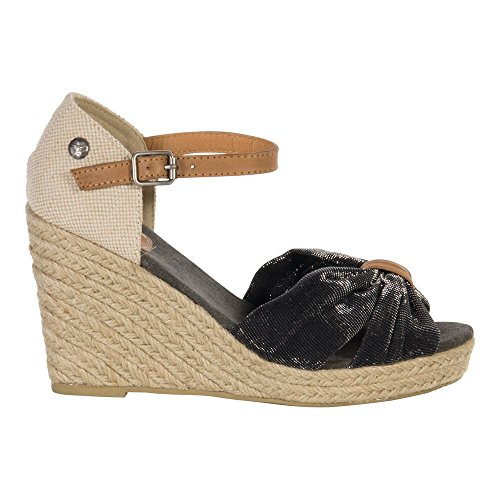 S1675801 Preußen Sandale Black Black Schuhe aus Fritzi Wedg03 wTxPBCq