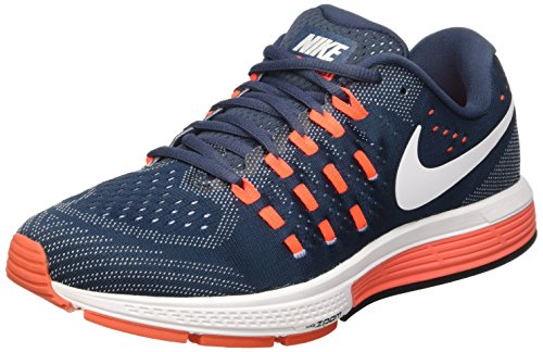 Nike Air Zoom Vomero 11 Scarpe da Ginnastica, Blu (Sqdrn Bl/White/Bl Gry/Ttl Crms), 45