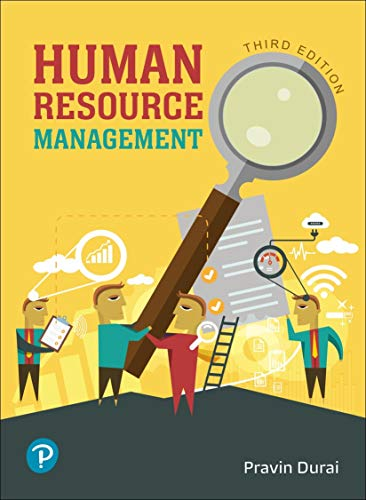 Human Resource Management |Third Edition | By Pearson