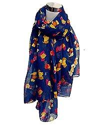 StyleSlice® Womens Ladies Summer Dog Print Scarf Wrap Sale
