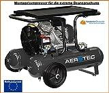 Montaggio Aerotec compressor Extreme, robusto-solido-oil-free-esente da manutenzione, 205 L/min. Fad