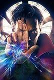 Poster Station UK Doctor Strange - Benedict Cumberbatch - sans Texte Film Affiche Affiche Imprimer Image - 30.4 x 43.2cm Taille Affiche de Film