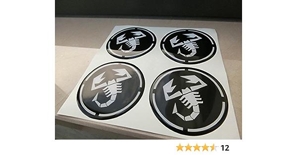 60 Mm Schwarz Tuning Effekt 3d Geharzt Radkappen Nieten Caps Aufkleber Stickers Für Alufelgen X 4 Stück Auto