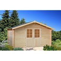 Box Casitas de madera caseta de jardín de madera 34 mm-13,9 mq