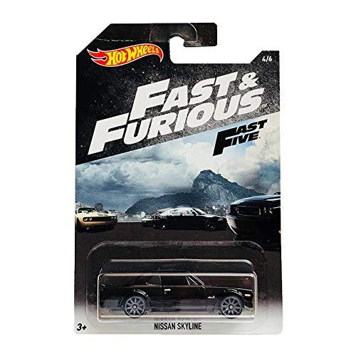 Hot Wheels Nissan Skyline Fast & Furious 4/6 2018