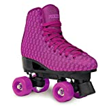Roces Classic Figure Quad Roller Skate pattini a rotelle Mania viola, Purple