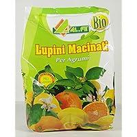 Abono BIOLÓGICO A BASE DE ALTRAMUCES MOLIDOS para cítricos y plantas ACIDOFILE en envase de 1 kg