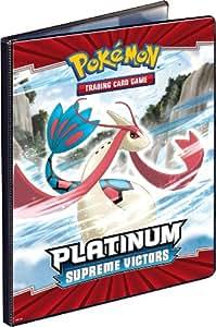 "Asmodée - 82410 - Jeu de cartes - Cahier Range-cartes - Pokemon ""Platinum III"" - 90 cartes (180 cartes Recto/Verso)"