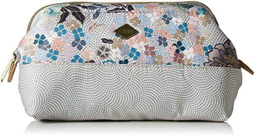 Oilily Damen M Soft Frame Pouch Taschenorganizer, Beige (Melon Sorbet), 8.5x13x21 cm