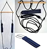 H&K-Sportperformance Schlingen Suspension Functional Sling Trainer inkl. Abstandshalter mit blauen Schlaufen