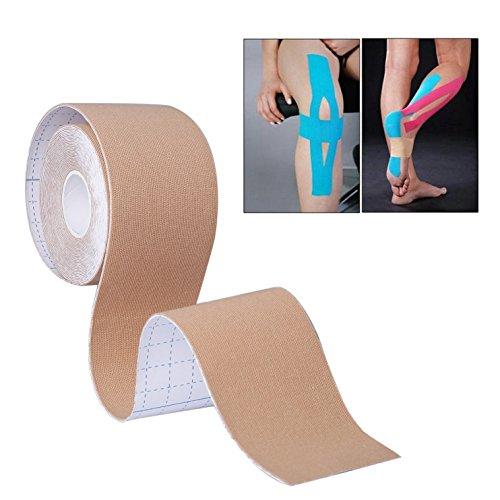 Tennisarm Muskel (KUNFO Best Muscle Tape, Für Knie Schulter Ellenbogen Knöchel Rücken Hals - Wasserdicht Medical Tape Reduzieren Müdigkeit Recover schneller - Sport Tape für alle Ihre Muskeln, reduzieren Verletzungen)