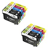 ONINO Epson 29XL Compatible pour Imprimantes Cartouches 29XL Epson Cartouches d'encre...
