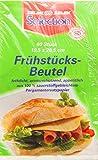 60 Stück Butterbrot - Beutel / Frühstückstüten (Fettdicht + Aromaschützend / 19,5 x 20,5 cm)