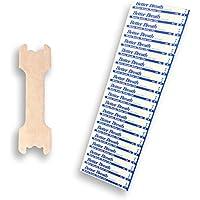 """Preisvergleich für Nasenpflaster Premium Select (10 Stück) von HeavySun® - Size: Small / Medium - """"Better Breath Nasal Strips"""" für..."""