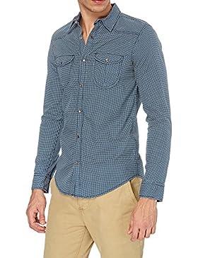 Camicia uomo Smiling London con fantasia a quadretti SLW5180