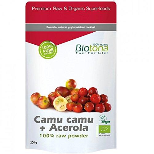 Biotona Camu camu + Acerola raw powder, 1er Pack (1x 200g)