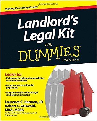 Landlord's Legal Kit For Dummies by Robert S. Griswold (2014-06-23)