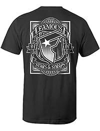 Famous Stars and Straps Men's Web Block T Shirt Black