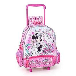zaino Trolley Minnie Mouse Disney Borsa Scuola Asilo Bambina CM. 30 – 36216C