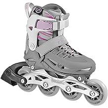 Powerslide Fitness Skates Phuzion 1 Girls - Patines en línea, color rosa, talla 29-32