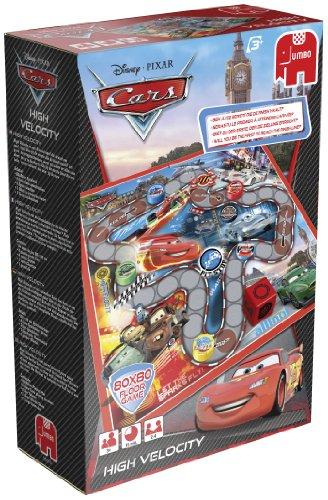 Jumbo 17677 - Disney Cars - Bodenspiel, Autorennen