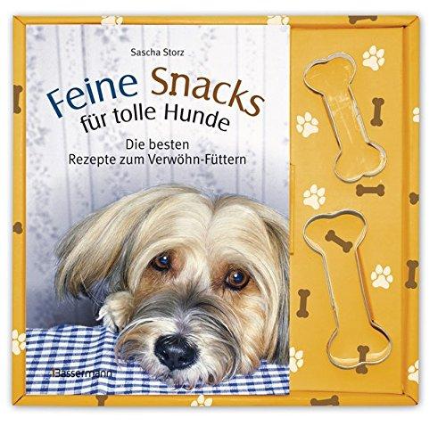 hundeinfo24.de Feine Snacks für tolle Hunde-Set: Die besten Rezepte zum Verwöhn-Füttern. Buch und zwei Ausstechförmchen