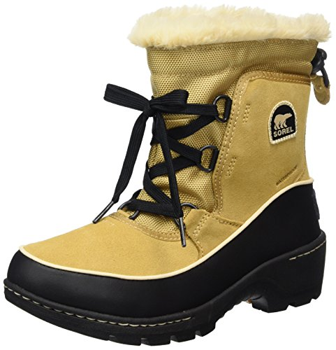 Sorel Youth Torino III, Stivali da Neve Bambina, Marrone (Curry, Black), 32 EU