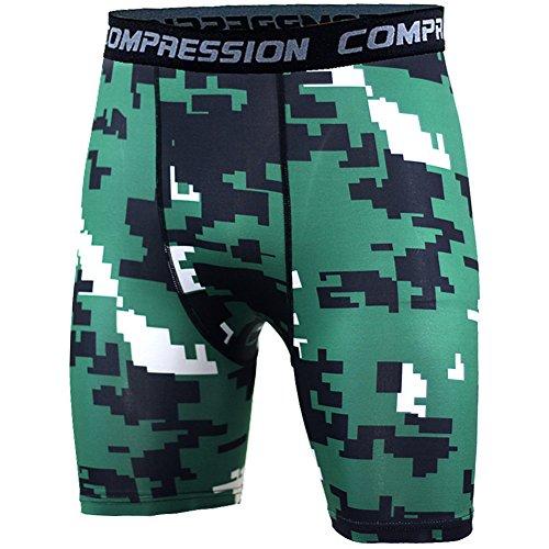Pantalones Cortos De Running Para Hombre - Pantalon Deportivos Compres