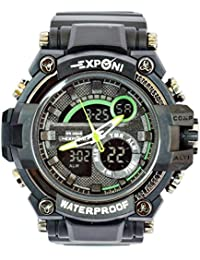VITREND(R-TM) Exponi WR 20 BAR Stylish NEW DESIGNED Analog & Digital Watch - For Men