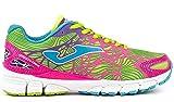 JOMA R.STORM VIPER LADY 611 FLUOR-ROSA.  - Zapatillas para correr para mujer, color fluor, talla 38