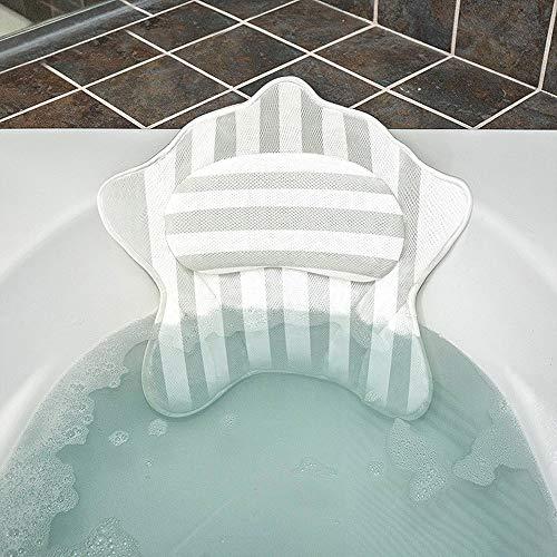 TRER Badekissen von Soothing Company |Badewannenkissen für Nacken, Kopf & Schultern |Luxuriöser Spa-Komfort -