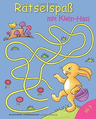 Rätselspaß mit Klein-Hasi: Rätseln, Suchen, Vergleichen und Zählen. Ab 3 Jahren.