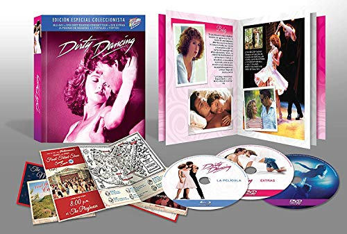 Dirty Dancing BDBook + DVD Extras + Postales [Blu-ray]
