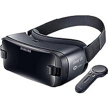 Samsung Gear VR (2017) - Gafas VR con controlador para juegos y aplicaciones (compatible con Samsung Galaxy S8, S8+, S7, S7 Edge, Note5, S6 edge+, S6 y S6 edge), color negro