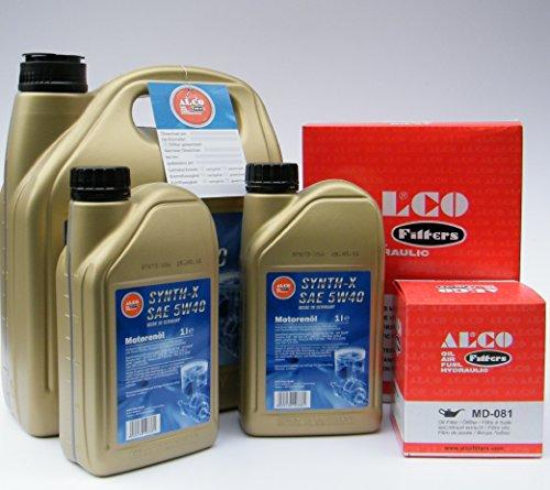 """Preisvergleich Produktbild Für BMW 3er 5er E36 E46 E39 Z3 Z4 """"All in One"""" Serviceset - Motoröl inklusive Ölfilter und Luftfilter"""