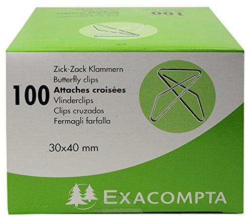 Zick-Zack Klammern 30x40 100St