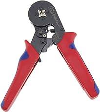 ROKOO HSC8 6-4A Aderendhülsen Crimp-Zange Selbstnachstellende Ratcheting Ferrule-Crimp-Werkzeug